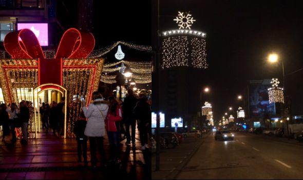Beograd sija kao Las Vegas, a Kragujevac muku muči i sa javnom rasvetom