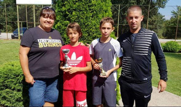 Mladi teniser Ognjen Milić pobednik Otvorenog prvenstva Kragujevca