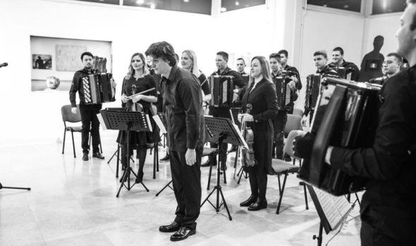Od Vagnera do SMAK-a: Orkestar harmonika Kragujevac u Beogradskoj filharmoniji