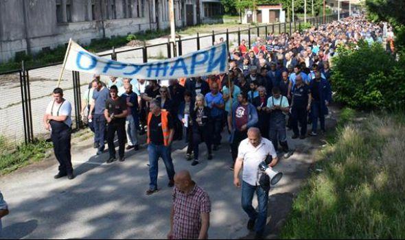 Oružari nastavili štrajk, bez dogovora u Ministarstvu odbrane