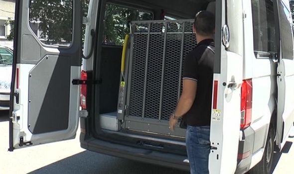 Od sada i vikendom: GAS iznajmljuje specijalizovano vozilo za osobe sa invaliditetom