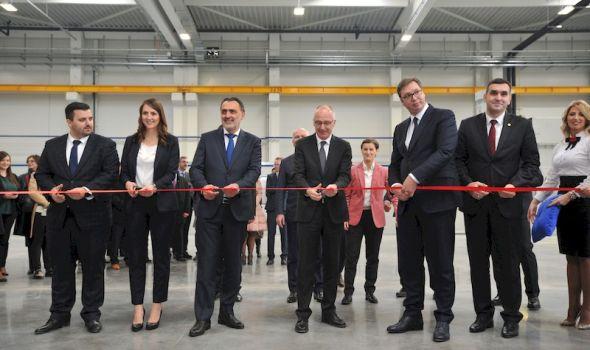 Otvorena prva fabrika u MIND parku – Vučić: Ovo je ogorman dobitak za celu Srbiju