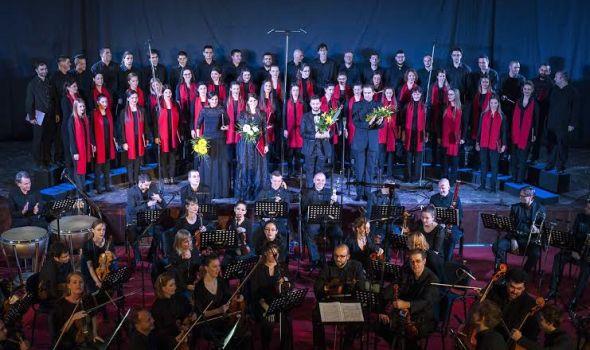Kragujevačko pevačko društvo nastupa u Plazi