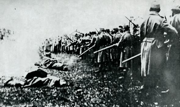 STARI KRAGUJEVAC - Pobuna Slovka 1918. godine