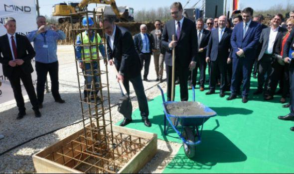 Počela izgradnja MIND PARKA – Vučić: Za Šumadiju danas počinje bolja budućnost