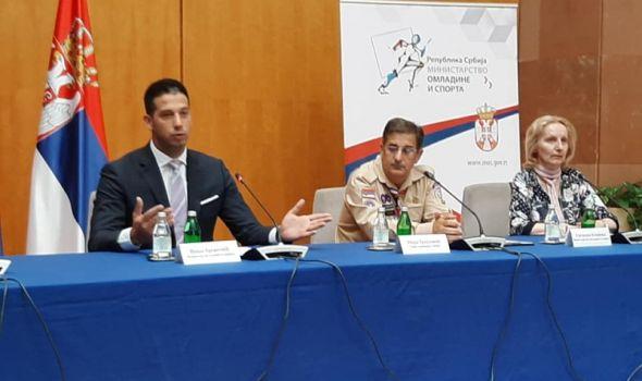 Kragujevcu 1,8 miliona od Ministartsva omladine i sporta