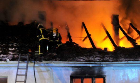 Požar u Poskuricama odneo život nepokretnom muškarcu