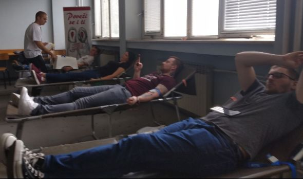 PROLEĆNA KAMPANJA: Studenti prikupili 150 jedinica krvi