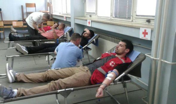 Studenti na potezu: Prolećna kampanja dobrovoljnog davanja krvi na fakultetima