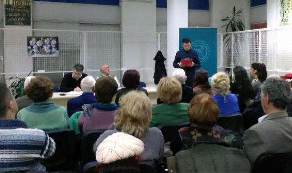 """Promocija romana """"Stanica Balkan"""" u Koloniji"""