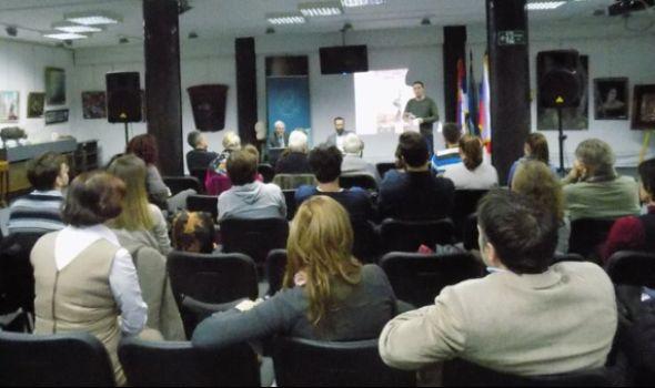 """Promocija knjige """"Rastrojstva"""" u biblioteci """"Vuk Karadžić"""""""