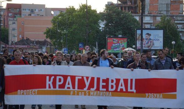 """""""Srbija ima ljude koji će praviti državu po meri sveta"""", a na protestu tek nešto više od stotinak građana"""