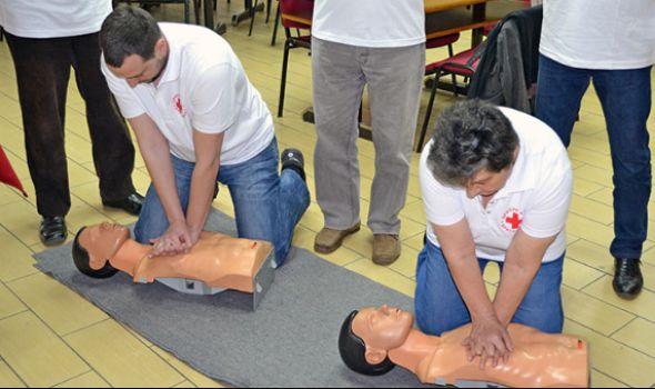 BESPLATNA obuka za pružanje prve pomoći u Crvenom krstu