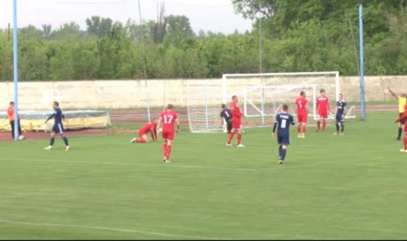 Fudbaleri Radničkog 1923 poraženi u Bačkoj Topoli (VIDEO)