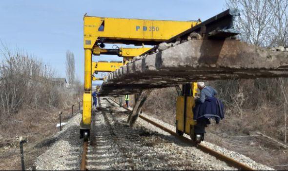 Gradi se nova železnička pruga Sobovica - Lužnice - Krak Batočina