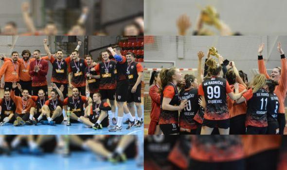 Rukometaši i rukometašice Radničkog osvojili Regionalni kup