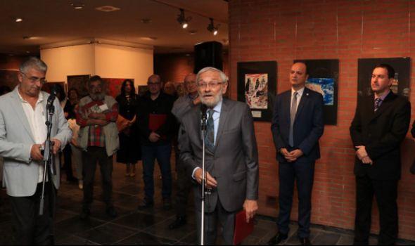 BDENJE: Otvorena izložba 20. Međunarodnog salona antiratne karikature