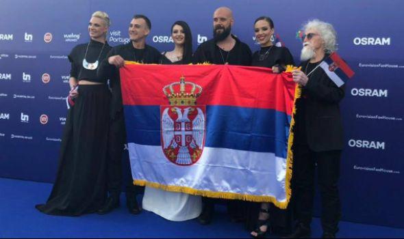Kragujevčanka Danica Krstić najlepša učesnica Evrovizije u Lisabonu (VIDEO)