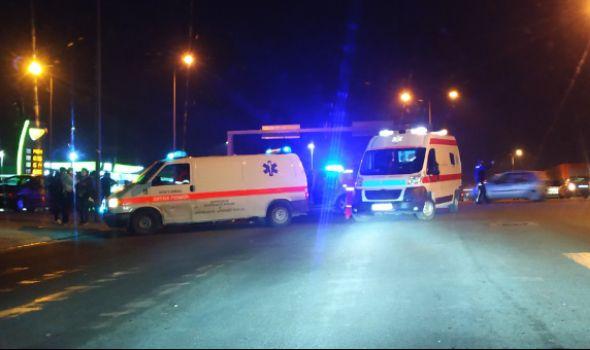 Teška saobraćajka na Aerodromu, povređeno pet osoba (FOTO)
