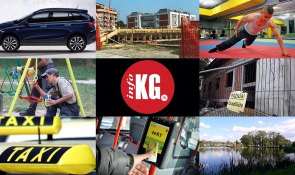 InfoKG 7 dana: Ćiftina ćuprija, Fiat, kuća Đure Jakšića, eKG, Ristić, jezero Bubanj...