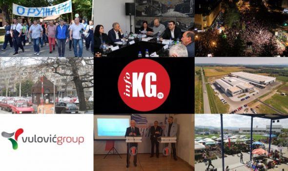 InfoKG 7 dana: Stevanović, Siemens, Dan grada, Vulović, Sajam hortikulture, PKGang...