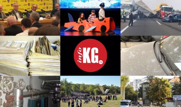 InfoKG 7 dana: Vakcinacija, grejna sezona, skener, Mišković, lančani sudar, Veliki školski čas, Aviončić, pepeo, Dom zdravlja
