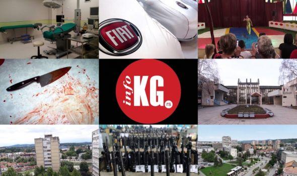 InfoKG 7 dana: Trudnoća, Fiat, cirkus, napad nožem, turizam, Šangajska lista, upravnici zgrada, oružje