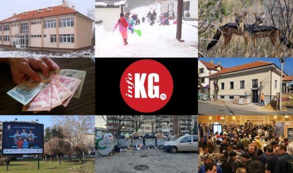 InfoKG 7 dana: Odmaralište na Kopaoniku, KG kom servis, šakali, Zastava oružje, plate, izuzetni učenici...