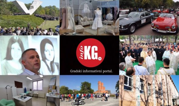 InfoKG 7 dana: Oktobarske svečanosti, oldtajmeri, Stara crkva, pedofil, hapšenje, sajam, jezero, Oktobarska trka sećanja...