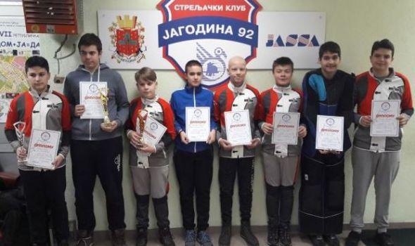"""Strelcima """"Čika Mate"""" četiri medalje u Jagodini, najuspešniji Uroš Aleksić"""