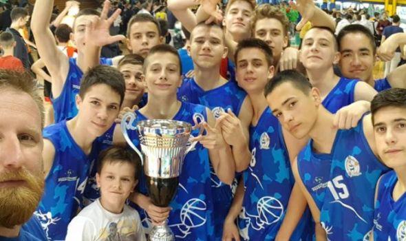 """Mladi košarkaši Foke vicešampioni turnira """"Daimiloptu"""" u Italiji"""