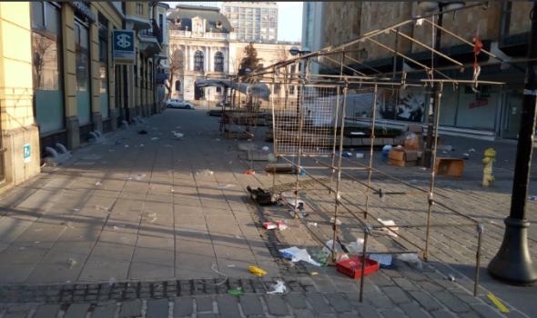 Ovako vam Kragujevac želi srećnu Novu Godinu: Prolaznici zgroženi prizorom koji su u centru zatekli 1. januara