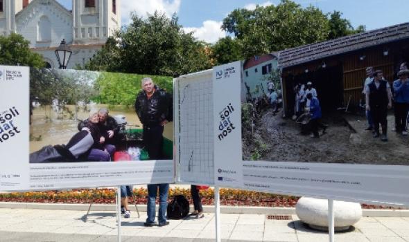 """Izložba """"Solidarnost u vreme krize"""" Fondacije Divac i fotoreportera Tanjuga"""