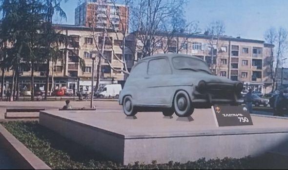 Kragujevčani i dalje čekaju na spomenik FIĆI, postavljanje koči gradska vlast