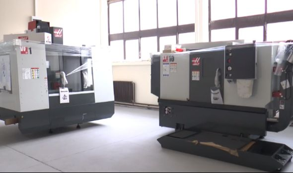 Srednja stručna škola dobila dve nove CNC mašine