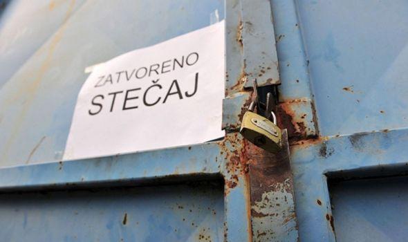 Od početka godine u Kragujevcu otvoreno osam stečajeva
