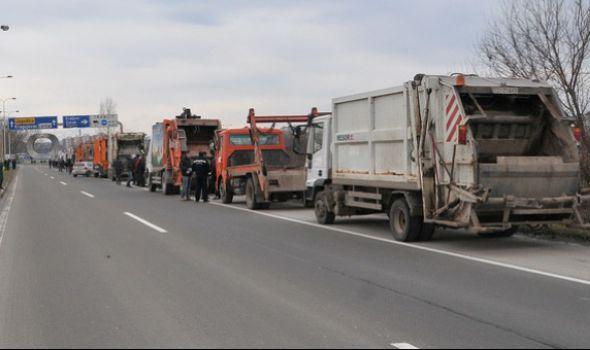 Štrajk upozorenja i u kragujevačkim JKP