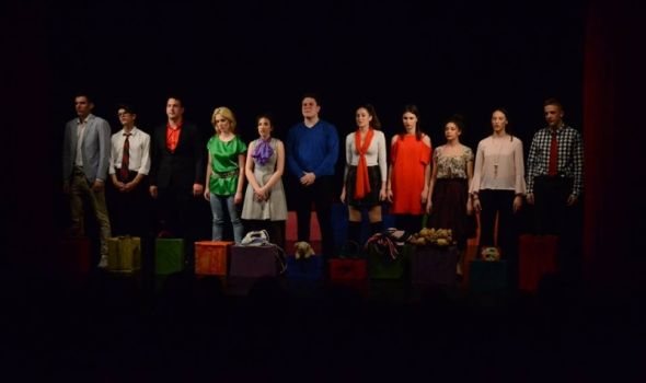 """Predstava """"Svi smo mi priče - koja je tvoja?"""" beogradskih gimnazija najbolja na 23. """"Pozorišnim susretima"""""""