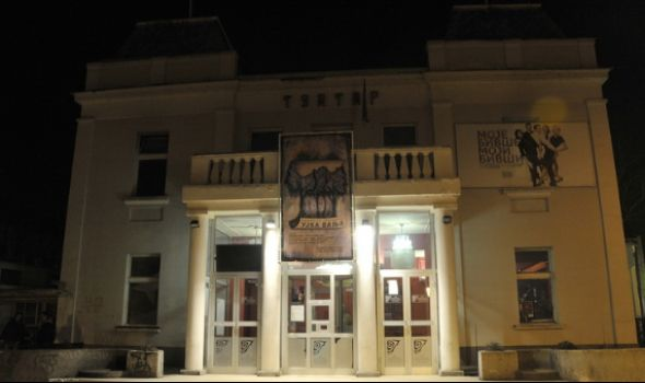 """Monodrama """"Čovek ili kamen"""" u Knjaževsko-srpskom teatru"""