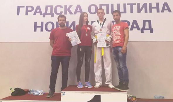 Tekvondo akademiji Kragujevac dve medalje u Beogradu