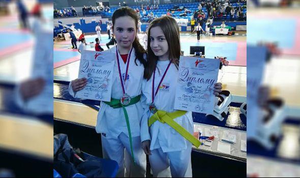 Tekvondo akademija Kragujevac osvojila tri medalje u Beogradu