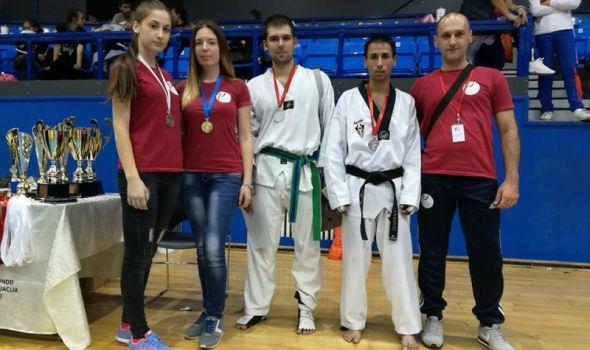 Kragujevački tekvondisti osvojili sedam medalja u Beogradu (FOTO)