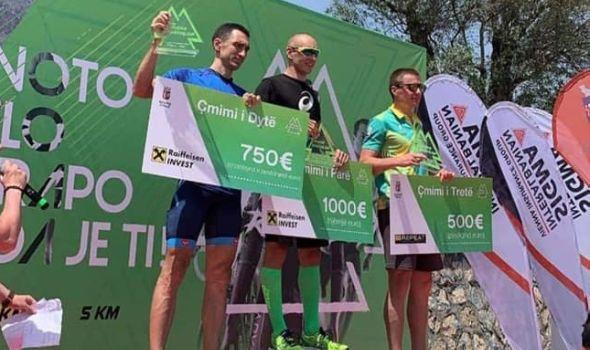 Kragujevčanin šampion Balkana u triatlonu (FOTO)