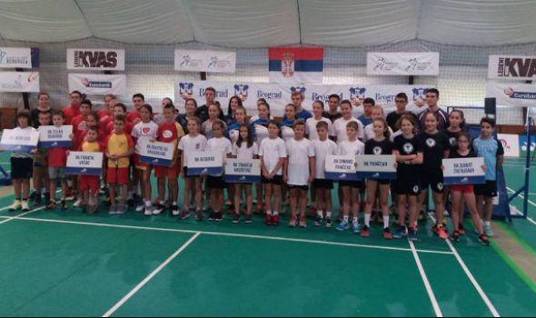"""Badminton klubu """"Ravens KG"""" pet medalja na """"Trofeju Beograda"""" (FOTO)"""
