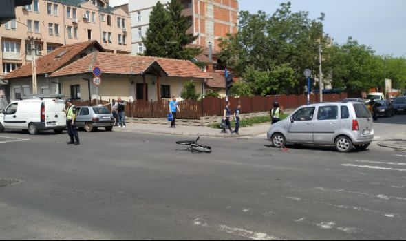 Oborena biciklistkinja na Bubnju (FOTO)
