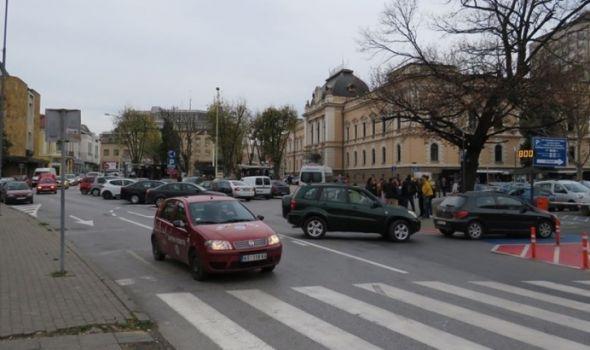 Manje gužve: Ukinuta četiri parking mesta zbog nove saobraćajne trake