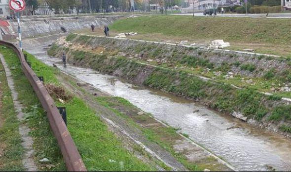 U toku sanacija korita reke Lepenice (FOTO)