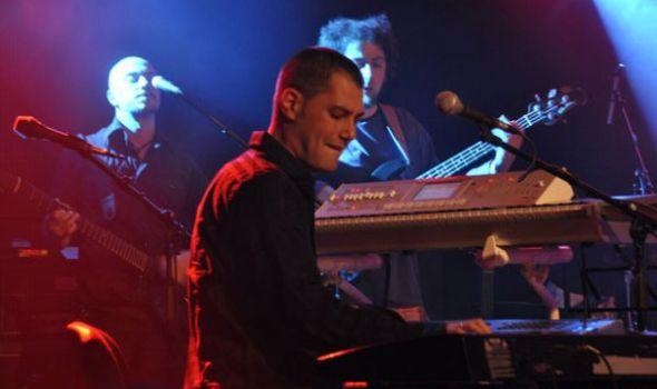 Trio Sveti: Marko Đorđević, Vasil Hadžimanov i Branko Trijić u SKC-u