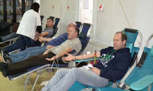Akcija dobrovoljnog davanja krvi u Crvenom krstu