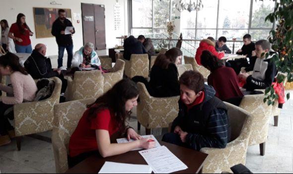 """Crveni krst vas poziva na veliku zimsku akciju dobrovoljnog davanja krvi u hotelu """"Kragujevac"""""""